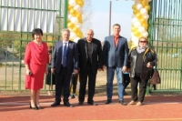 Открытие спортивной площадки